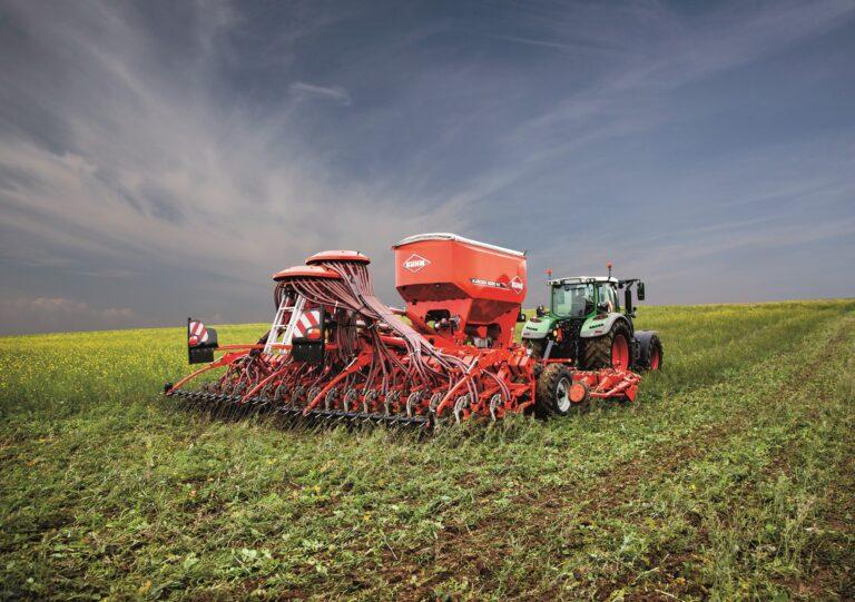 Kuhn AuRock, nieuwe zaaimachine voor conserveringslandbouw
