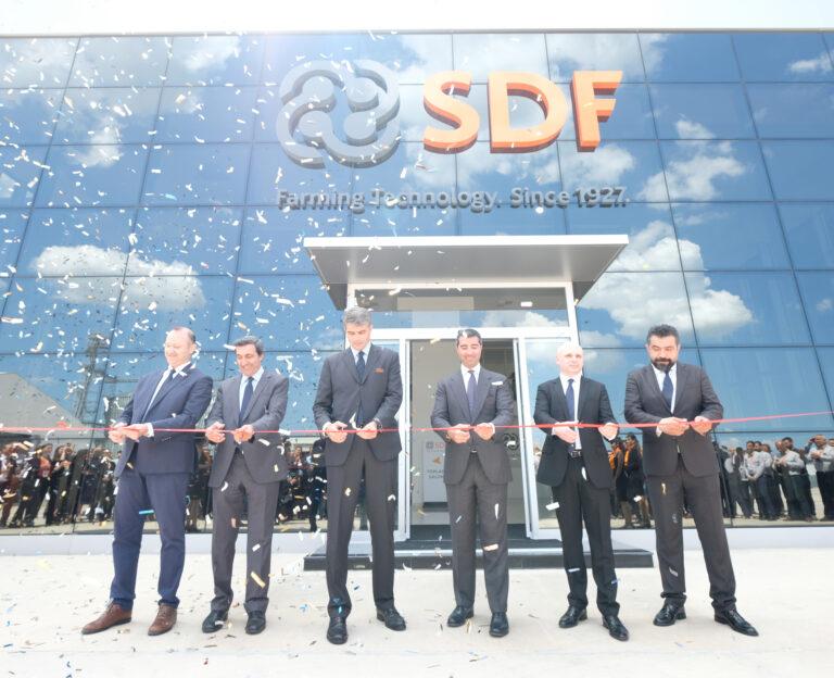 SDF neemt nieuwe productielijnen in gebruik in Turkije