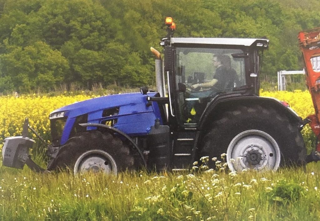 Massey Ferguson prototype opnieuw gespot
