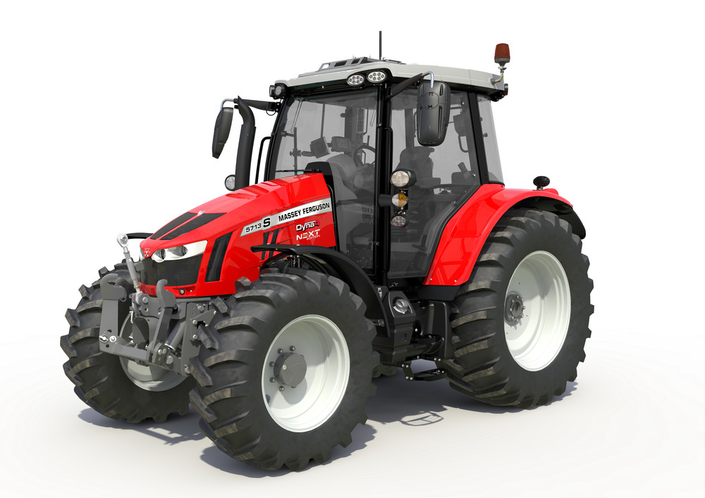 Massey Ferguson NEXT Edition tractoren op Agribex