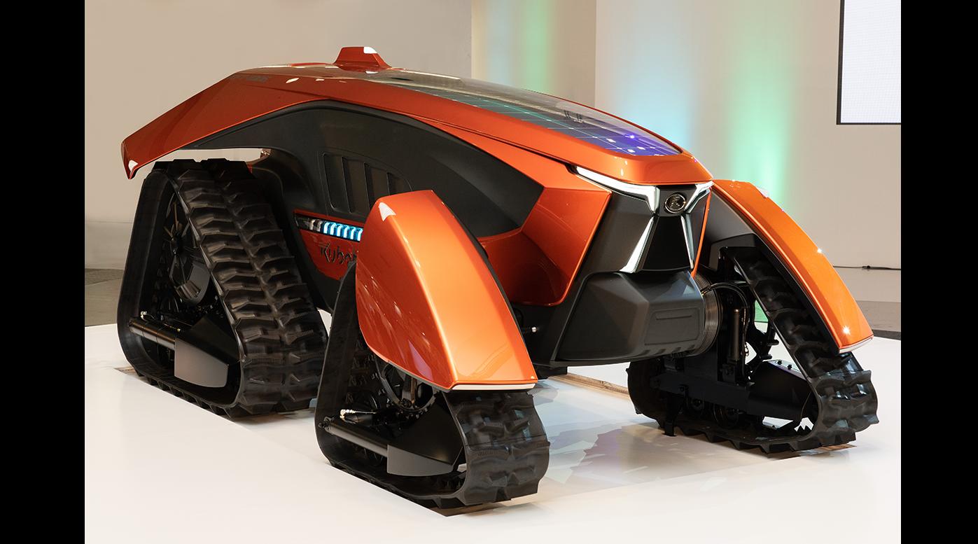 """Kubota viert 130 jaar met """"Dream tractor"""""""