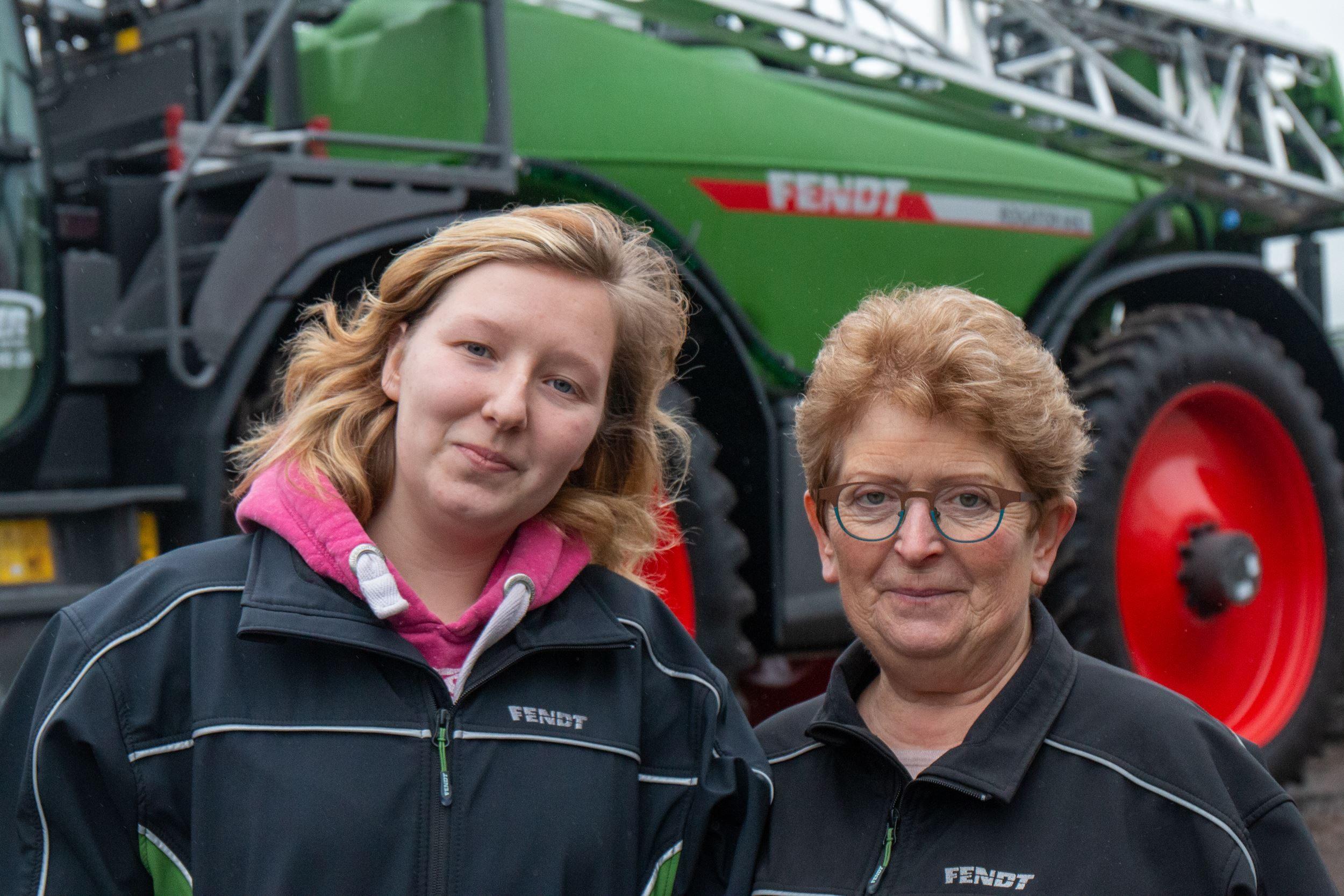 Vrouw in de landbouw: Rosa en Jana Malengier