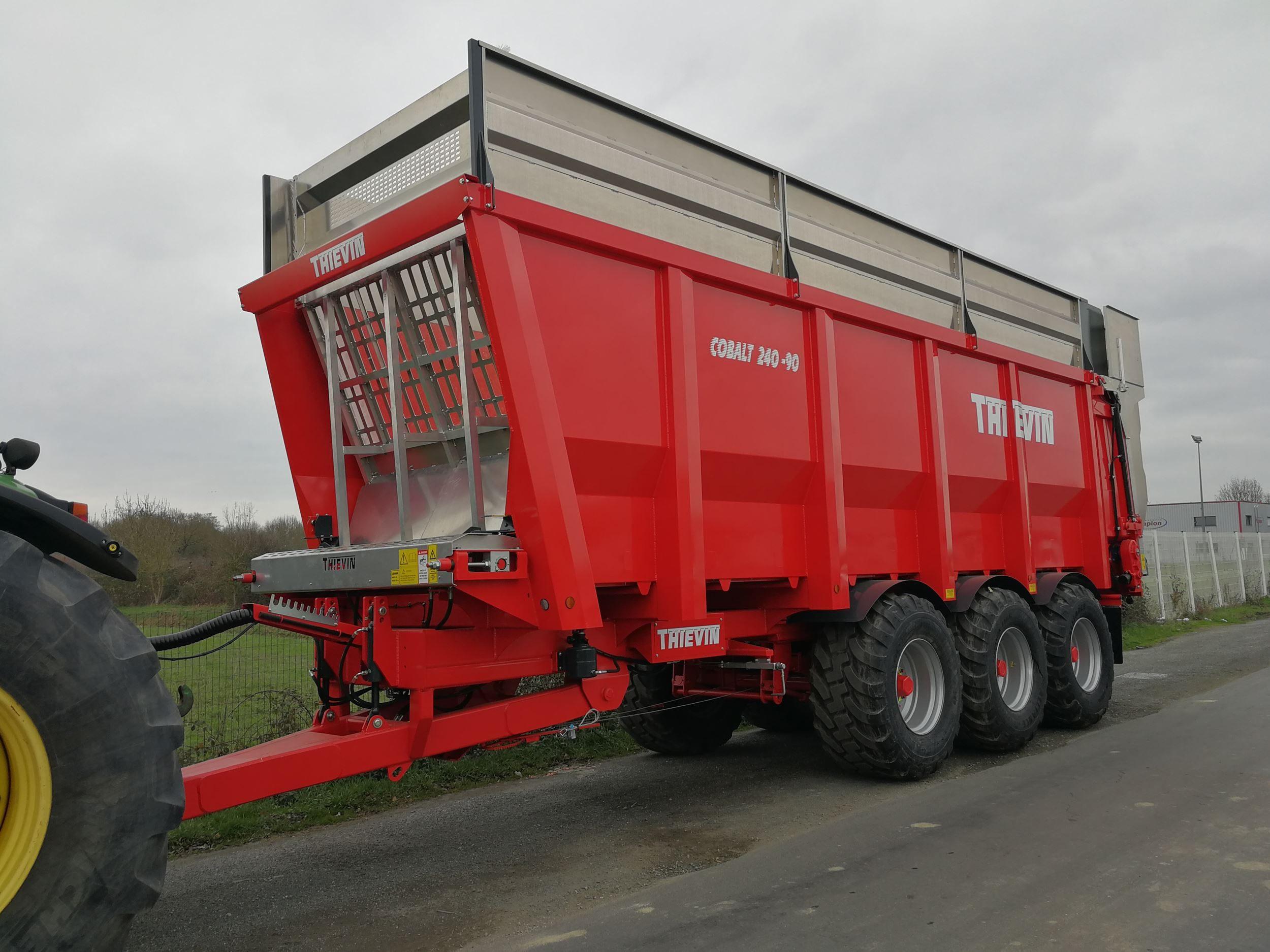 Thievin Cobalt duwwand-wagens nu ook in België verkrijgbaar
