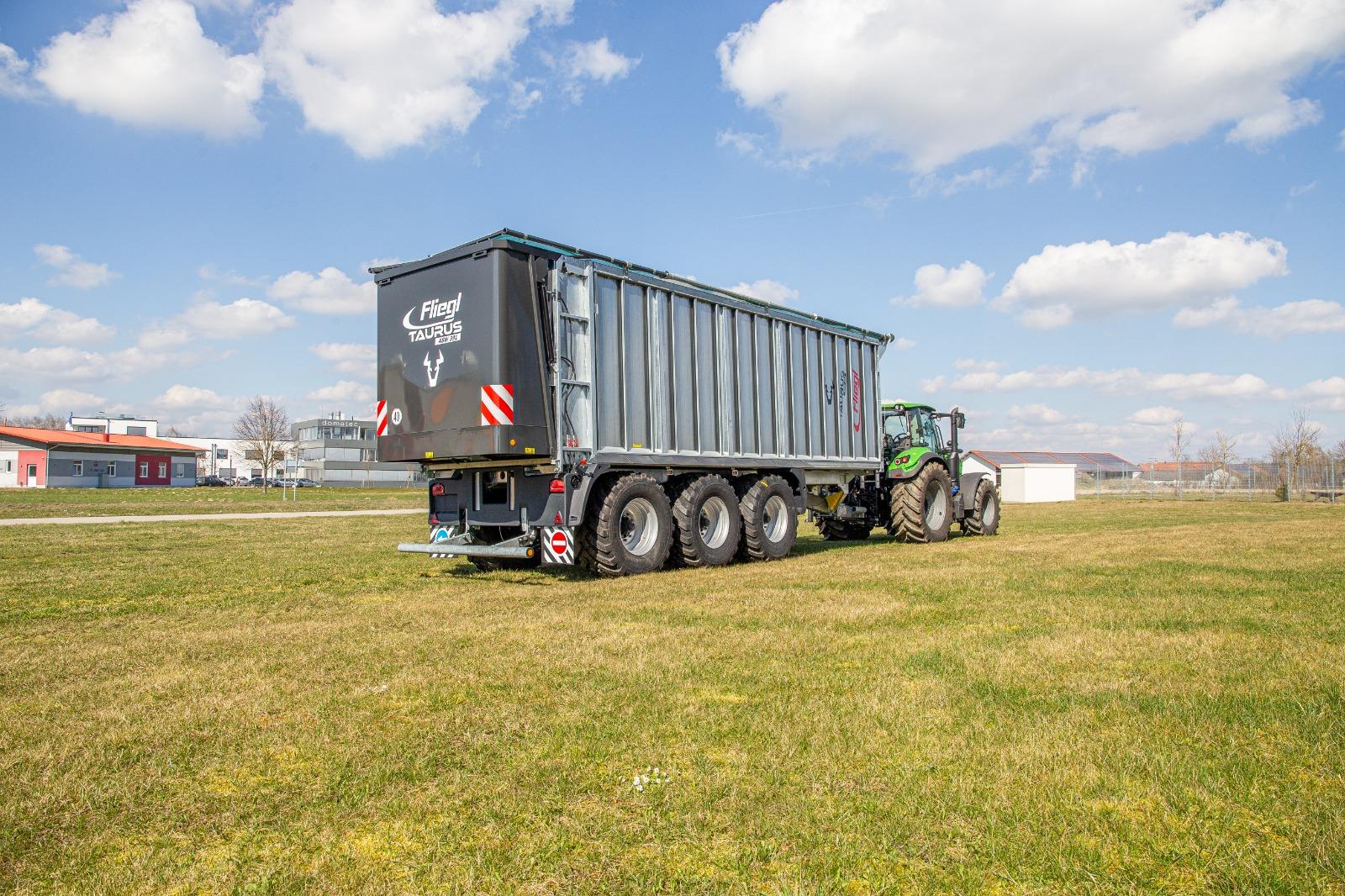 Fliegl brengt pure transportwagen uit