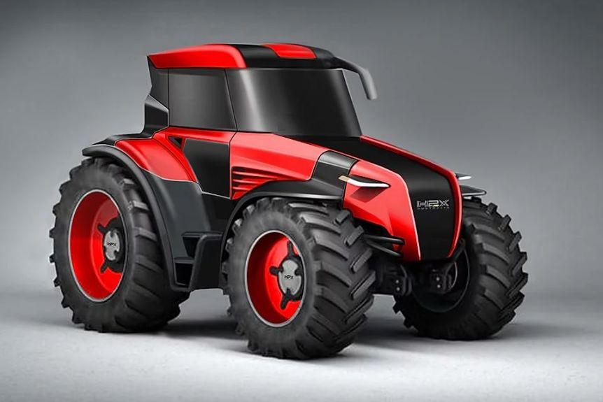 Australische start-up toont tractor met brandstofcel