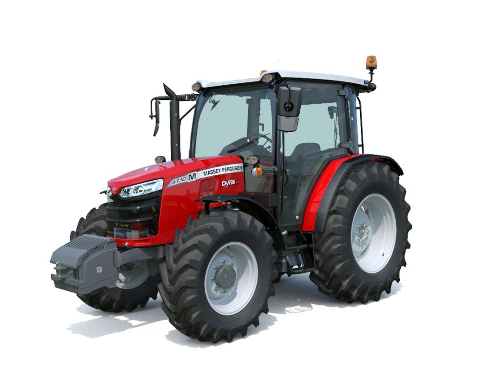 Massey Ferguson lanceert eenvoudige 4700 M mid-range tractoren