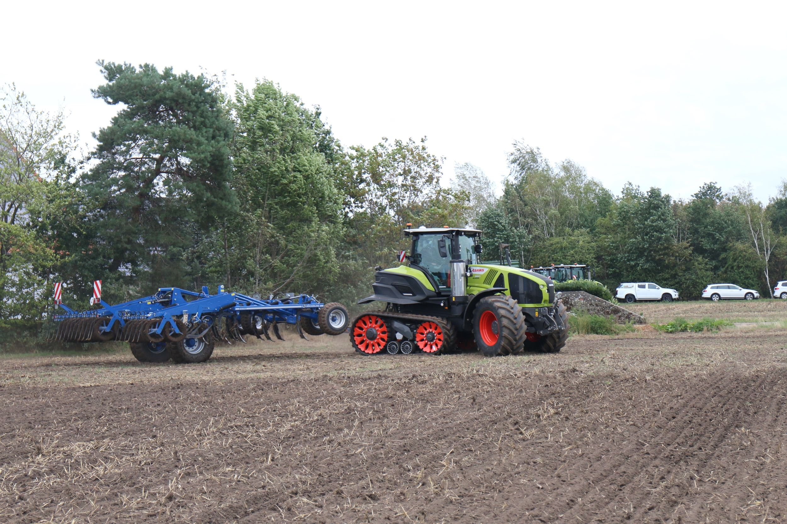 Magazine: Getest: Claas Axion Terra Trac
