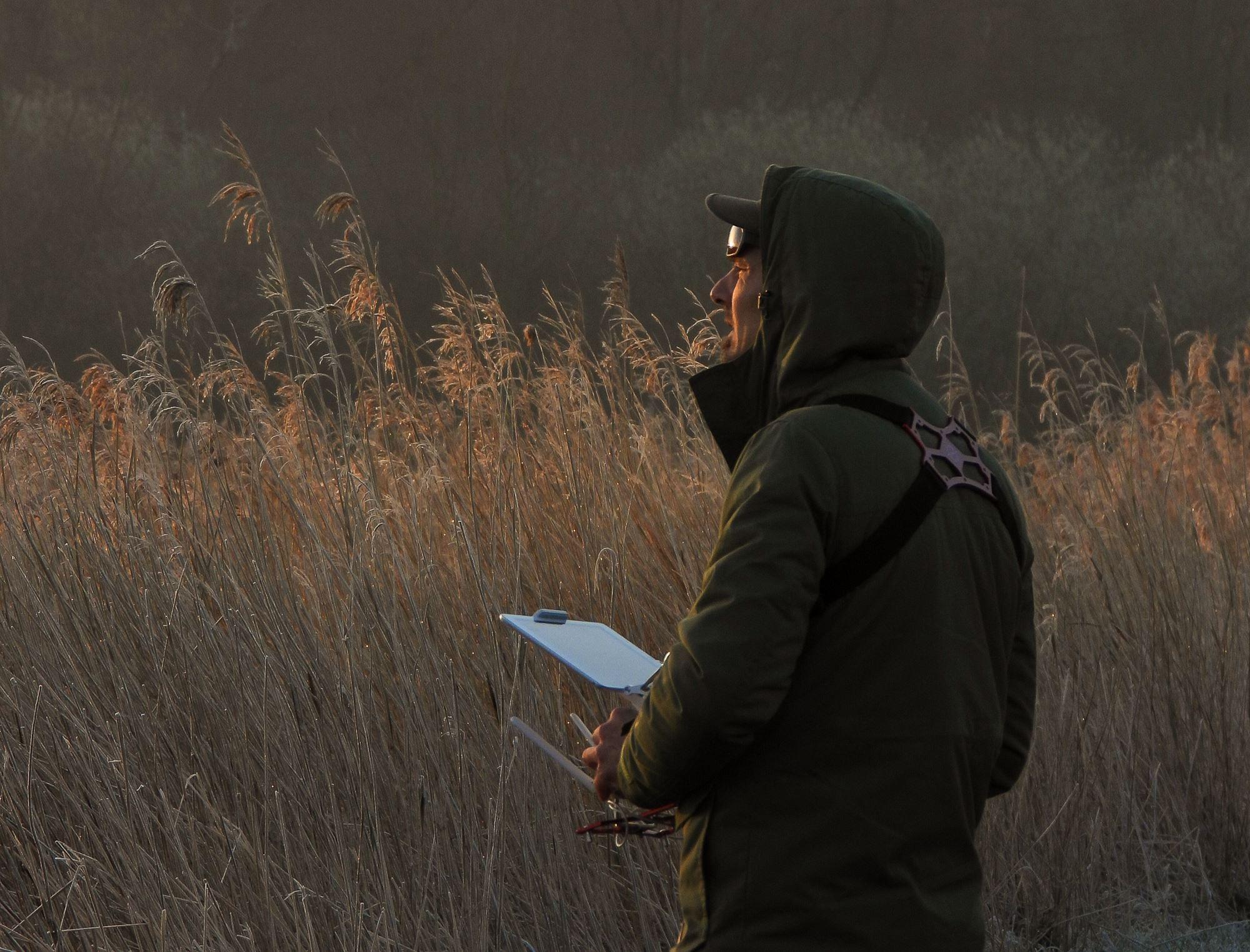 Vogelnesten detecteren met een drone