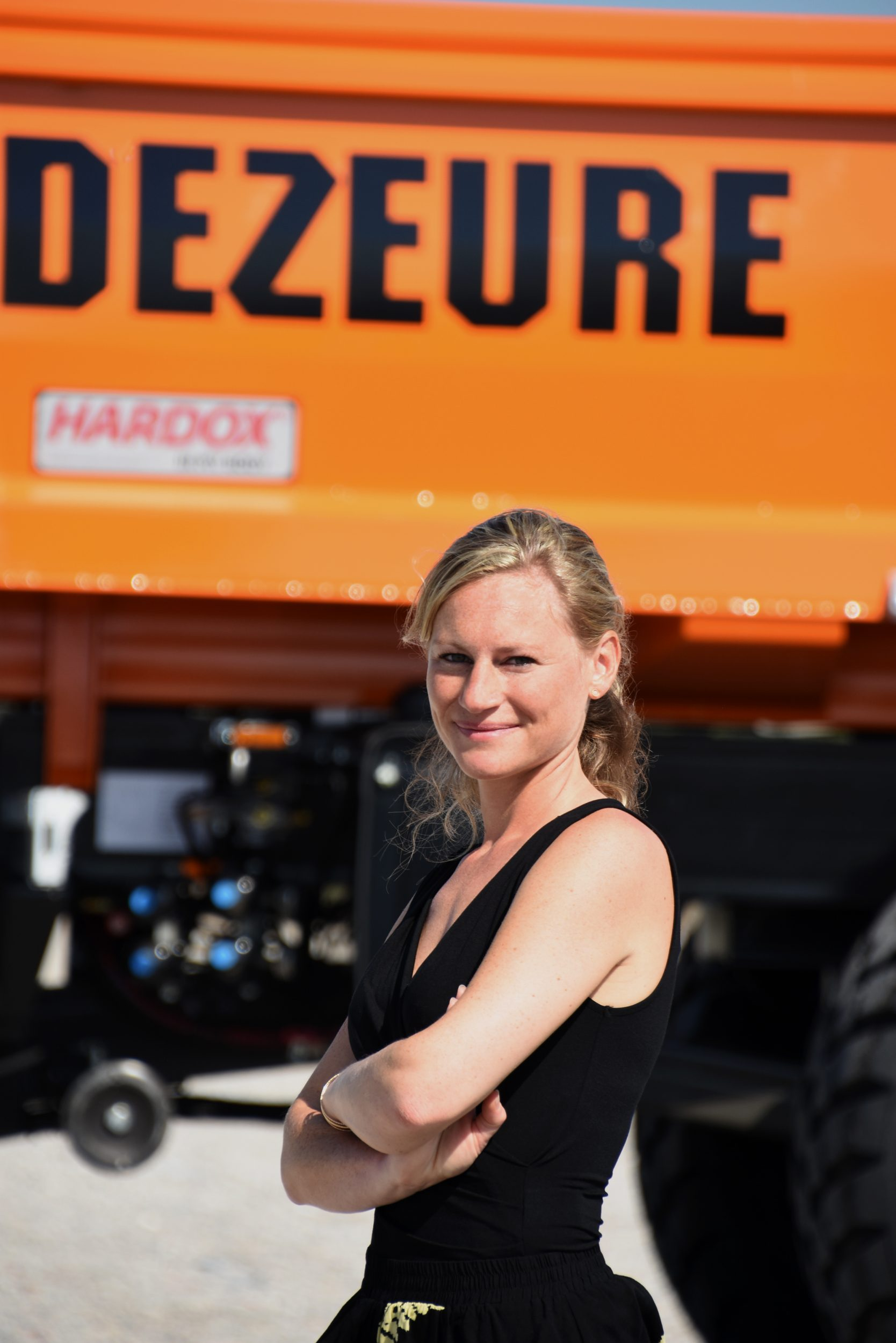 Magazine – Vrouw in de landbouw: Tine Dezeure