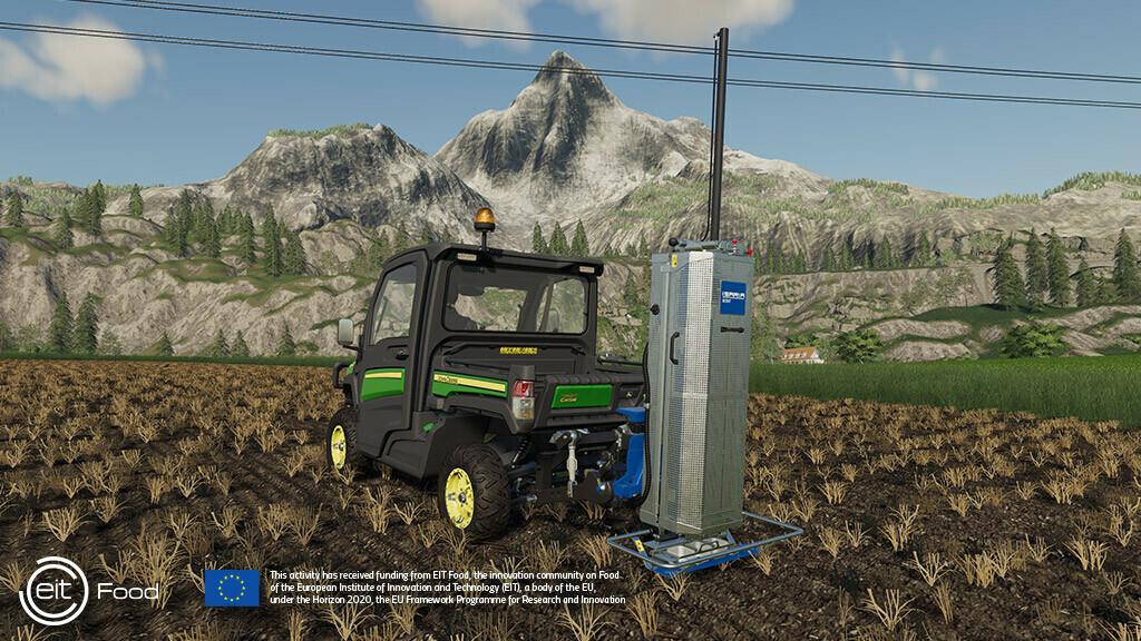Precisielandbouw voor de virtuele boer