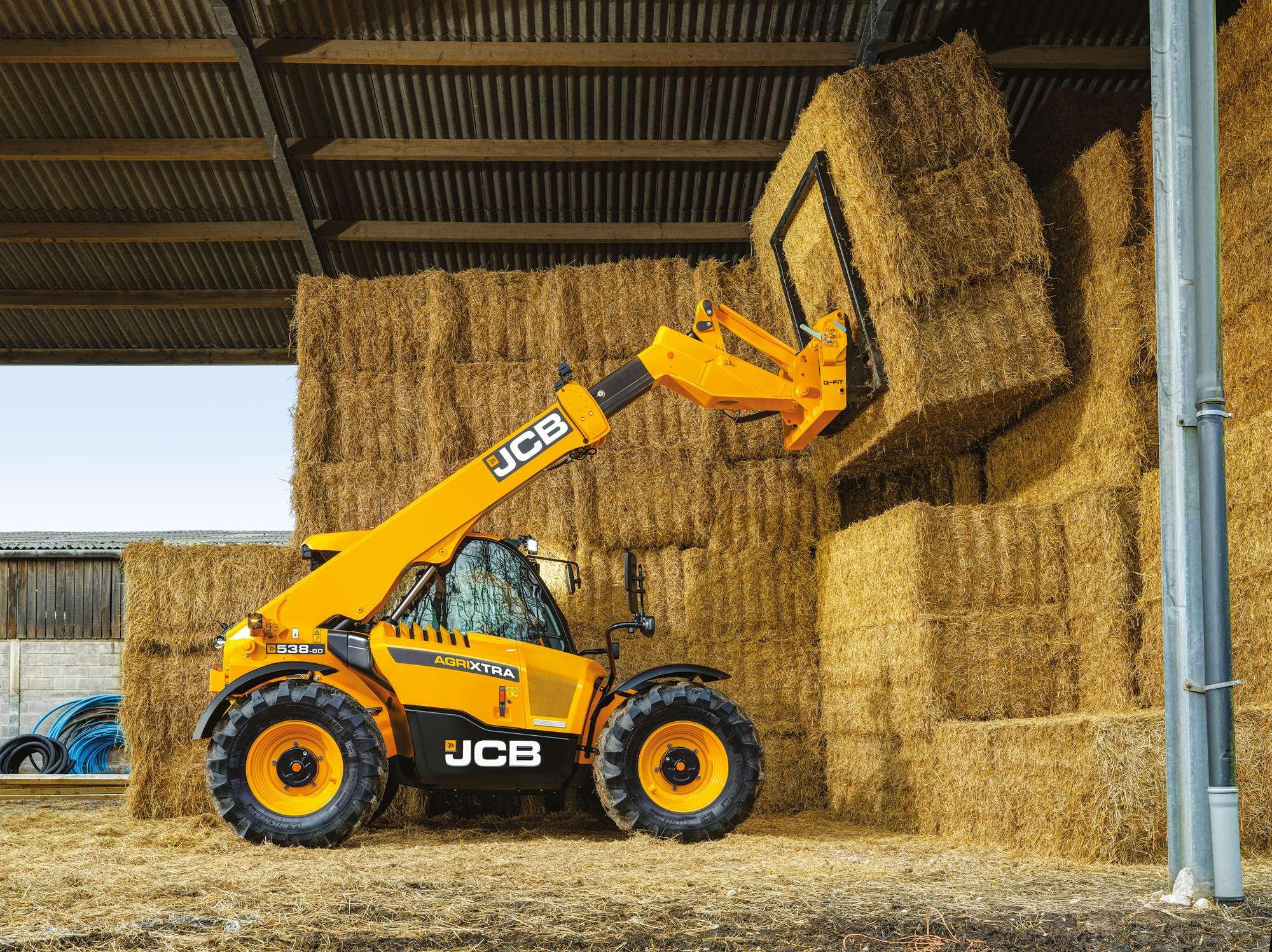 Extra vermogen voor nieuwe JCB verreikers