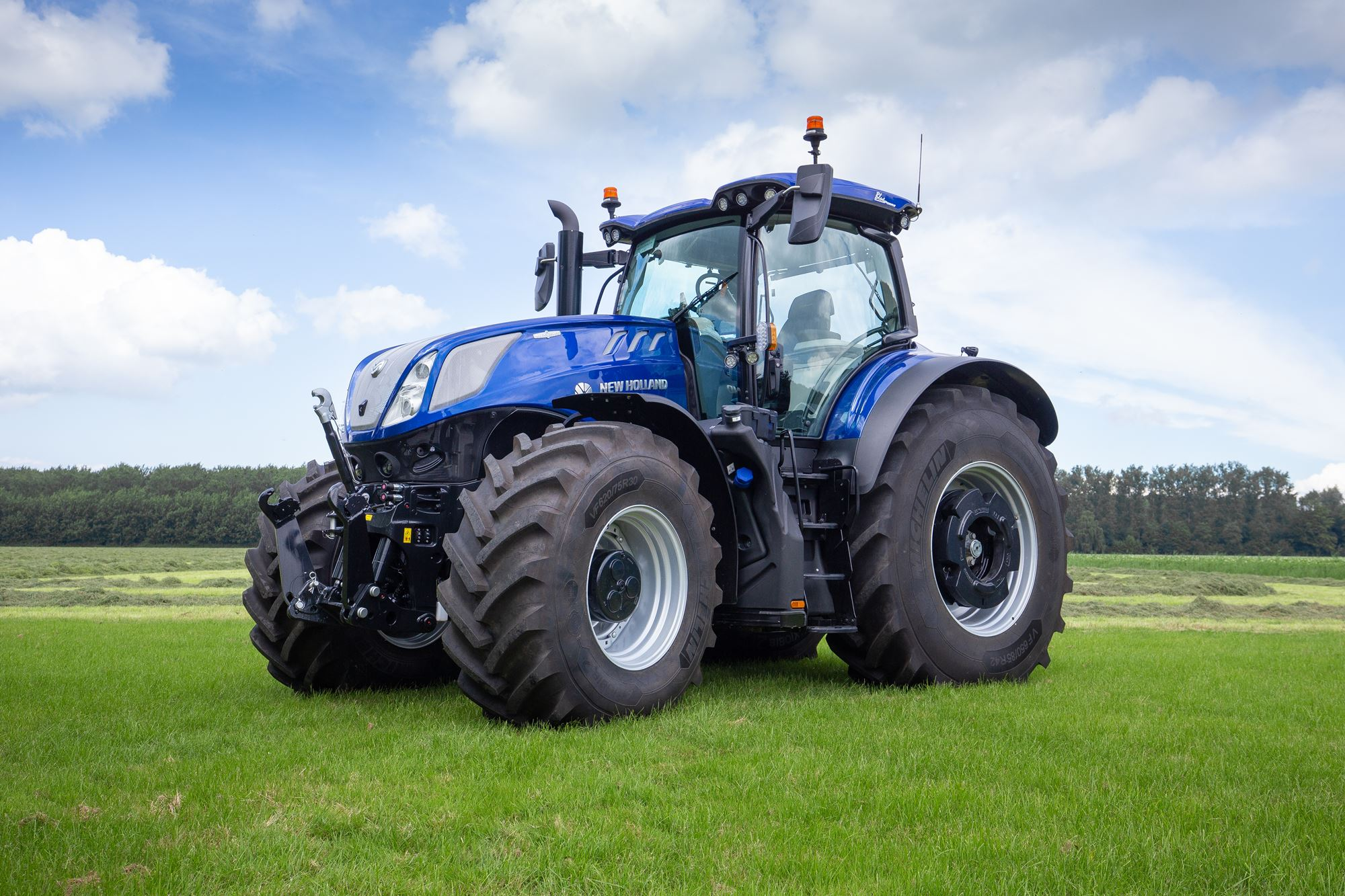 New Holland vernieuwt de T7HD