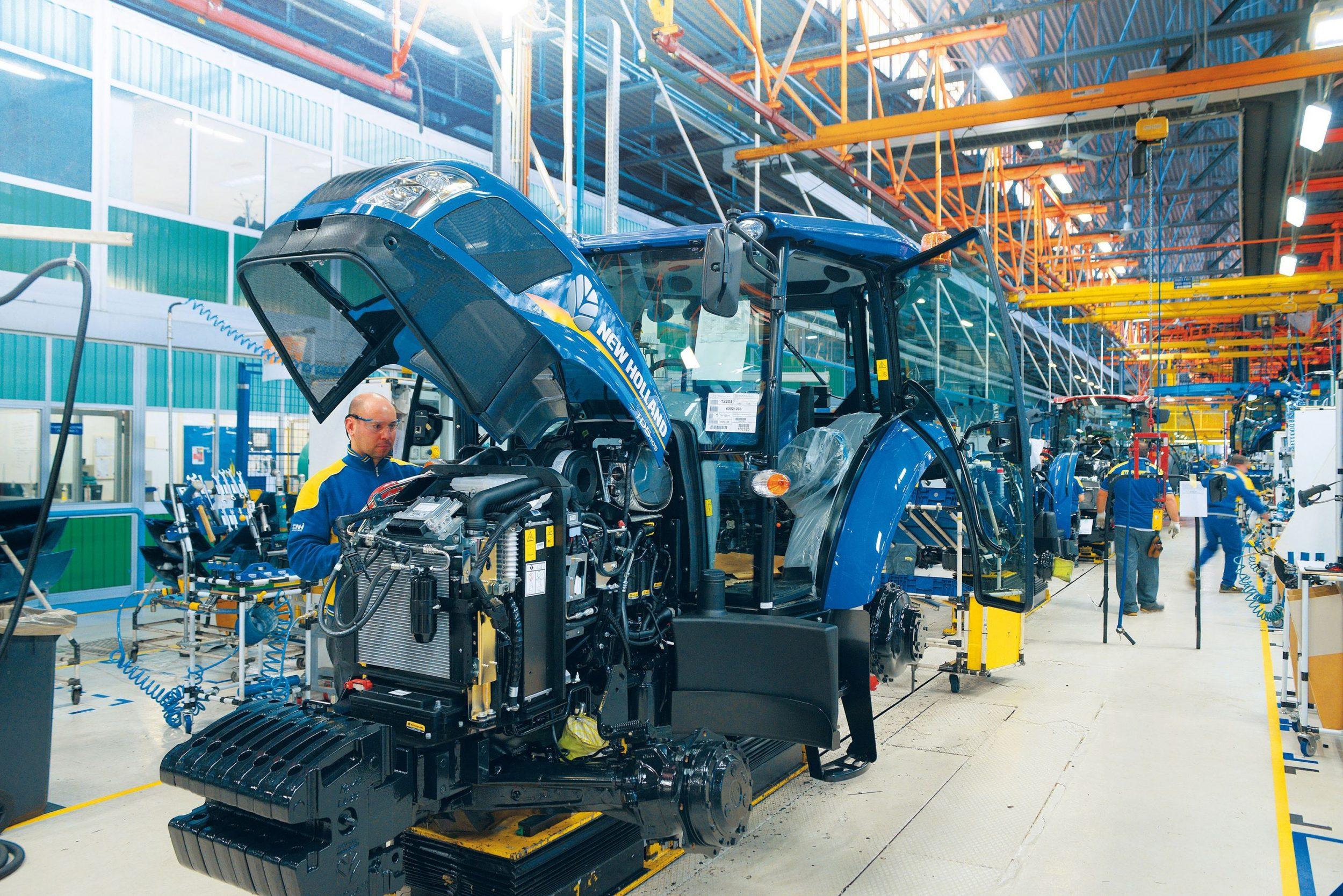 CNH Industrial sluit fabrieken tijdelijk